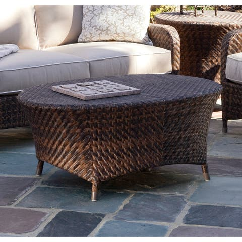 Braxton Culler Belle Isle Outdoor Oval Coffee Table
