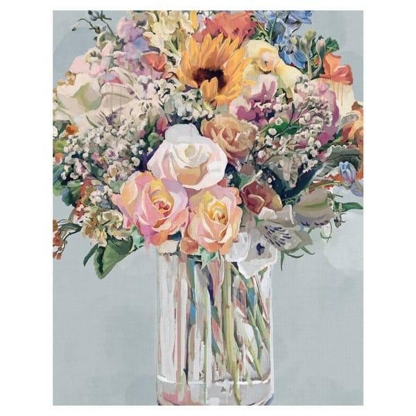 Bouquet Di Fiori.Shop Mazzo Di Fiori Bouquet Of Flowers Soft By Studio Arts Wrapped