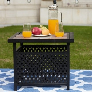 Link to PATIO FESTIVAL ® Outdoor Side Table Similar Items in Outdoor Coffee & Side Tables
