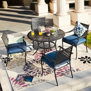 PATIO FESTIVAL ® Outdoor 5-Piece Dining Set
