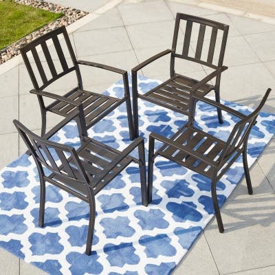 PATIO FESTIVAL Outdoor Dining Chair (4-Pk)