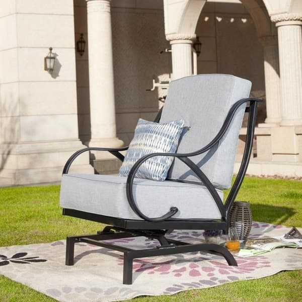 Outdoor Rocking Motion Chair With
