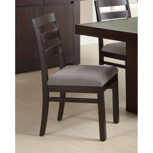 Howard Casual Ladderback Dining Chairs Set Of 2