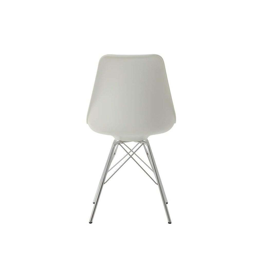 Phenomenal Bolden Contemporary Padded Dining Chairs Set Of 2 Inzonedesignstudio Interior Chair Design Inzonedesignstudiocom