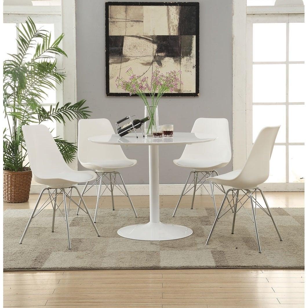 Cool Bolden Contemporary Padded Dining Chairs Set Of 2 Inzonedesignstudio Interior Chair Design Inzonedesignstudiocom
