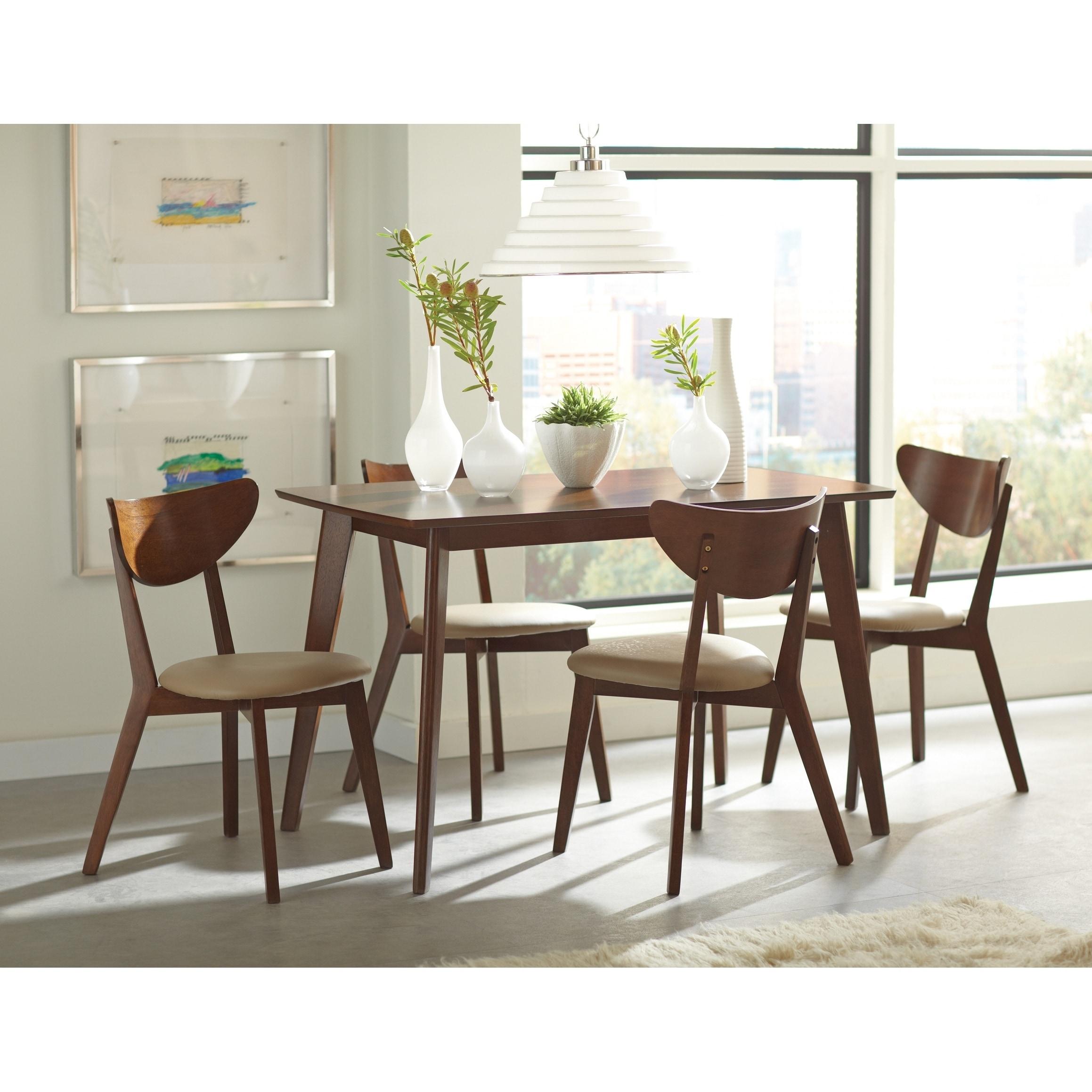 Morlins Retro Chestnut Dining Table