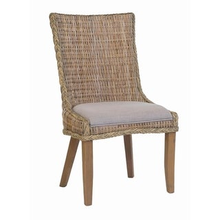 Vincent Country Woven Dining Chairs (Set of 2)