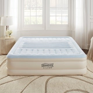 Beautyrest Silver 18-inch King Size Lumbar Supreme with Adjustable Tri-Zone Lumbar Support Air Bed Mattress with Built-in Pump