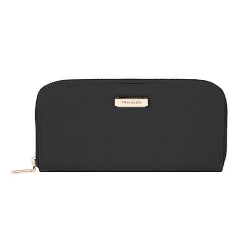 Travelon Single Zip Wallet