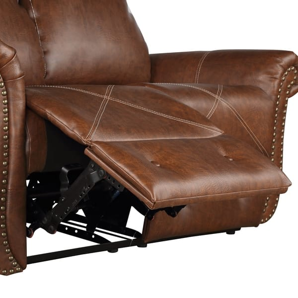 Astounding Shop Harper Bright Designs Pu Leather Recliner Sofa On Pabps2019 Chair Design Images Pabps2019Com
