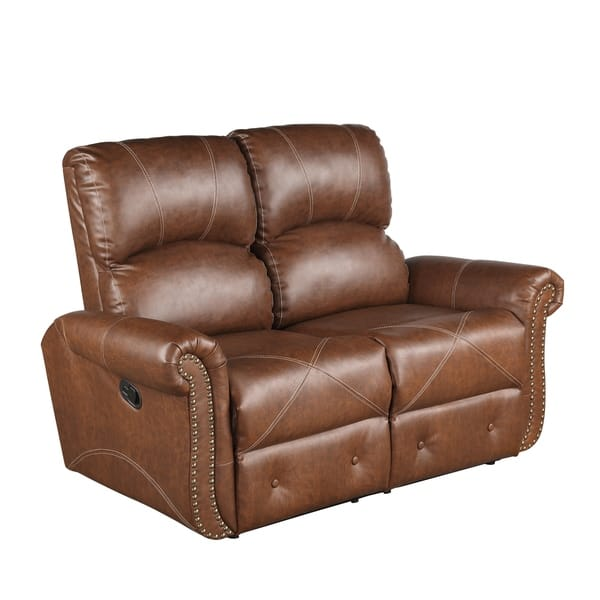 Admirable Shop Harper Bright Designs Pu Leather Recliner Sofa On Pabps2019 Chair Design Images Pabps2019Com