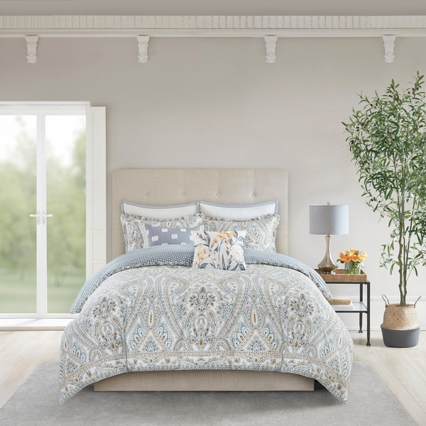 Echo Design Venus Multi Reversible Cotton Comforter Set
