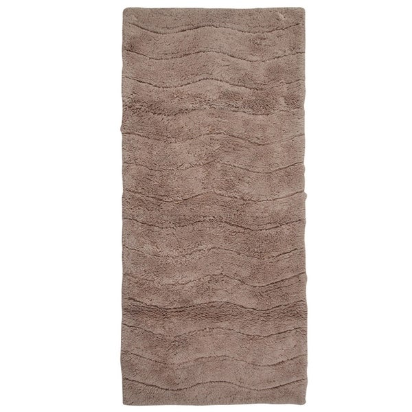 "22 x 60 Cotton Anti Skid Wave Oversized 22/"" x 60/"" Bath Rug"