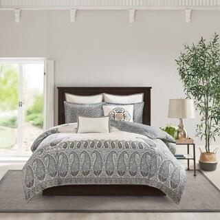 Echo Design Paisley Shawl Multi Reversible Cotton Comforter Set