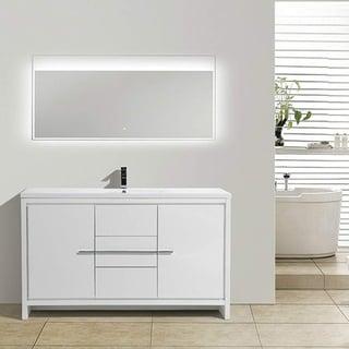 Eviva Grace 60 in. White Vanity