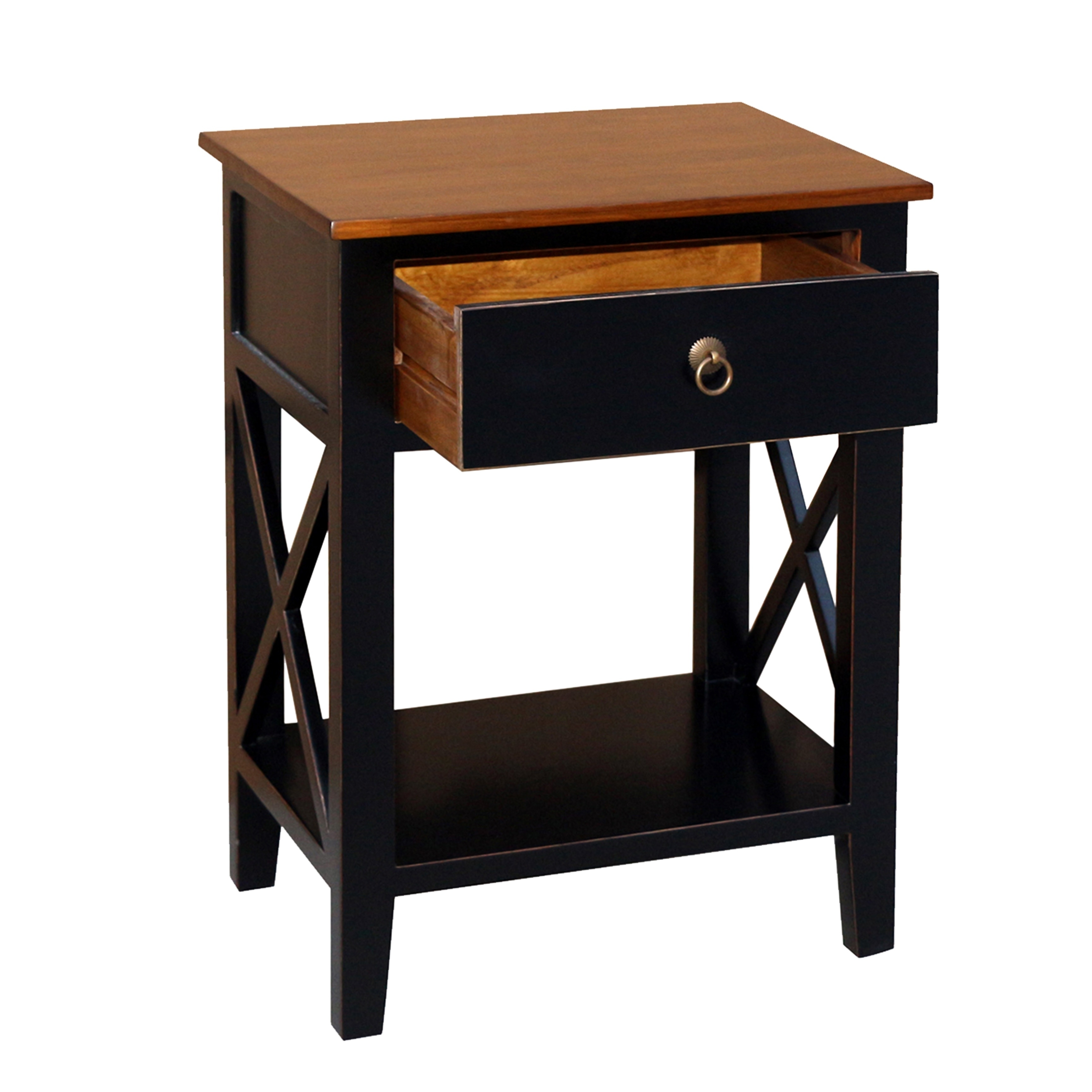 Porthos Home Unique Side Table Cabinet With Drawer Shelf For Bedroom Overstock 27276758