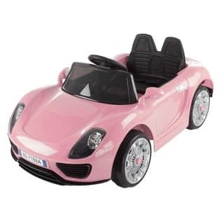 Lil' Rider Motorized Electric Ride On Sports Car With Rechargeable Battery, Remote Control, MP3, USB, Lights and Sound