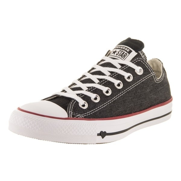 Shop Converse Unisex Chuck Taylor Denim Love Ox Casual Shoe - Free ... 00d2eee4768a