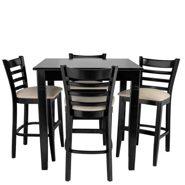 Shop 5 Pc Counter Height Dining Set Free Shipping Today