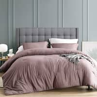 Porch & Den Amherst Rhubarb Brown Cotton Oversized Comforter Set