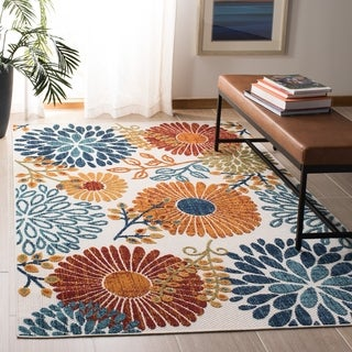 Safavieh Cabana Indoor/ Outdoor Lilah Floral Polyester Rug