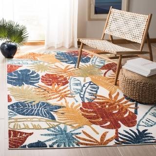 Safavieh Cabana Indoor/ Outdoor Leala Floral Polyester Rug
