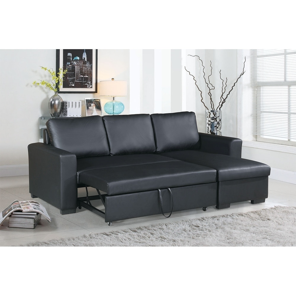 Faux Leather 2 Piece Sectional