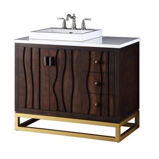 "42"" Tennant Brand Catalanes Urban Modern Bathroom Vanity"