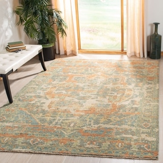 Safavieh Hand-knotted Izmir Anjali Traditional Oriental Wool Rug with Fringe