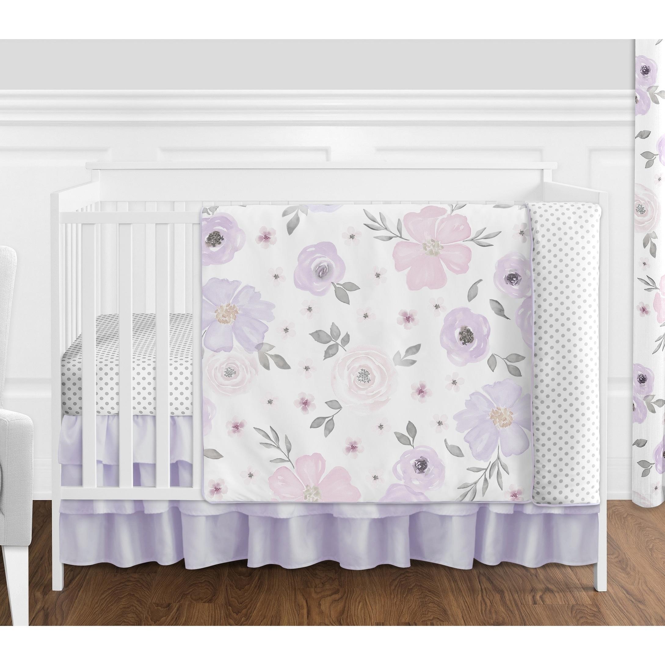 Bedding Sets New 7 Pcs Baby Bedding Set Crib Bed Set Cartoon Little Dog Baby Crib Set Quilt Bumper Sheet Skirt