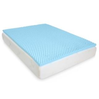 Milliard 2in. Egg Crate Gel Memory Foam Mattress Topper