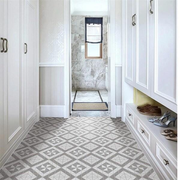 Grey Semi Gloss Floor Tiles Online