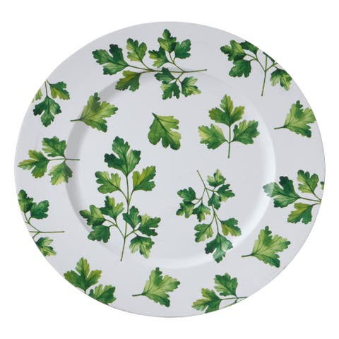 Parsley Design Table Chargers (Set of 4)