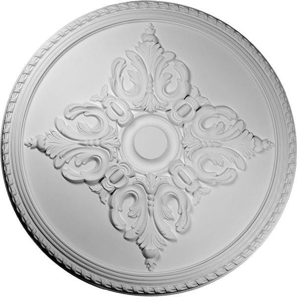 "54 1/4""OD x 2 7/8""P Milton Ceiling Medallion"
