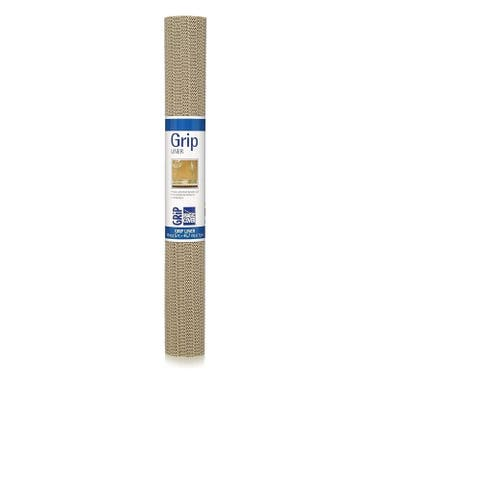 Magic Cover Grip Non-Adhesive, 18'' X 5', Taupe Shelf & Drawer Liner, Pack of 6