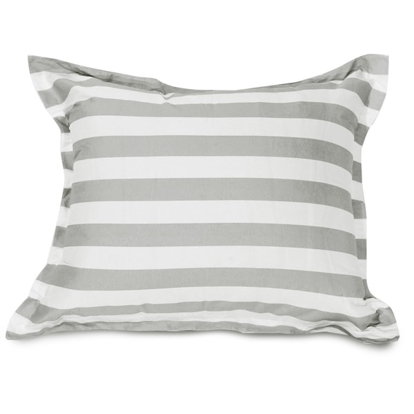Majestic Home Goods Vertical Stripe Oversized Floor Plush Pillow 54 in L x 44 in W x 12 in H. Opens flyout.