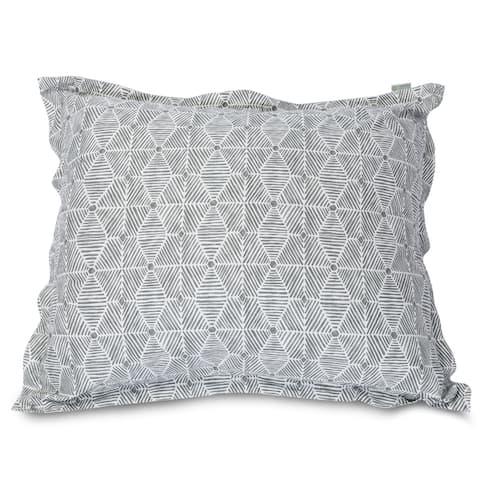 Majestic Home Goods Charlie Oversized 54 x 44 Floor Pillow