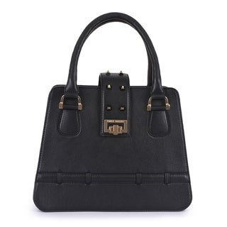 Handmade Phive Rivers Women's Leather Black Handbag