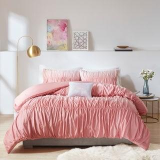 Intelligent Design Josie Ombre and Ruched Comforter Set