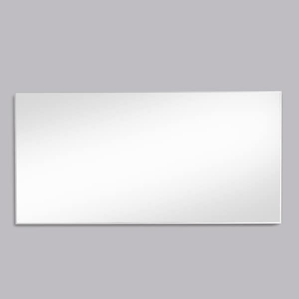 Eviva Sax 72 in. Polished Chrome Wall Mirror