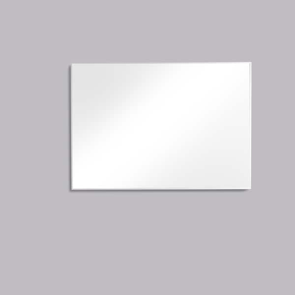 Eviva Sax 42 in. Polished Chrome Wall Mirror