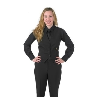 Henry Segal Women's Tailored Uniform Basic Vest, Many Colors Available