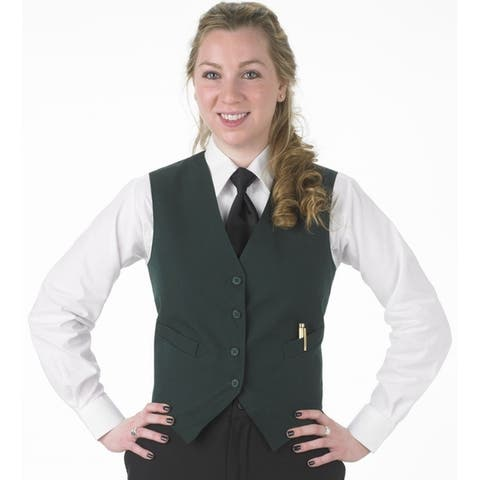 Henry Segal Women's Tailored Uniform Basic Vest, Many Colors Available