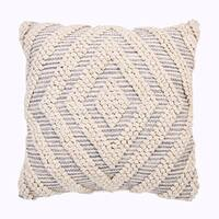 VCNY Wyatt Woven Geometric 18 inch Decorative Throw Pillow