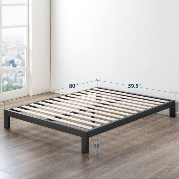 10 Inch Heavy Duty Metal Platform Bed