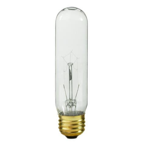 Royal Designs Clear Edison Vintage Style 60-Watt Light Bulb with Brass Colored Base