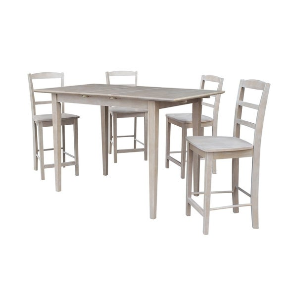 32X48 Counter Height Table With 4 San Remo Stools