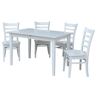 Dining Table With 4 Emily Chairs