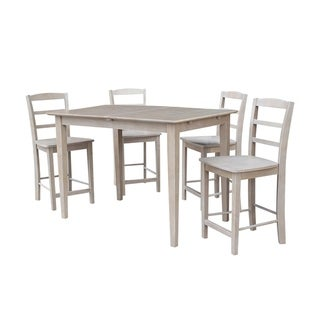 32X48 Counter Height Table With 4 Madrid Stools