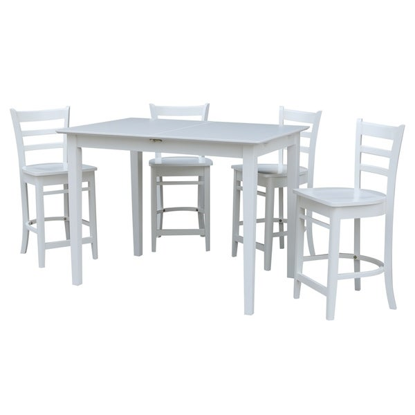 Counter Height Table With 4 Emily Stools